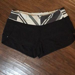 Lululemon Speed Shorts Size 6